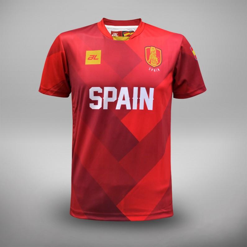 Euro 2016 Spain Fans Jersey