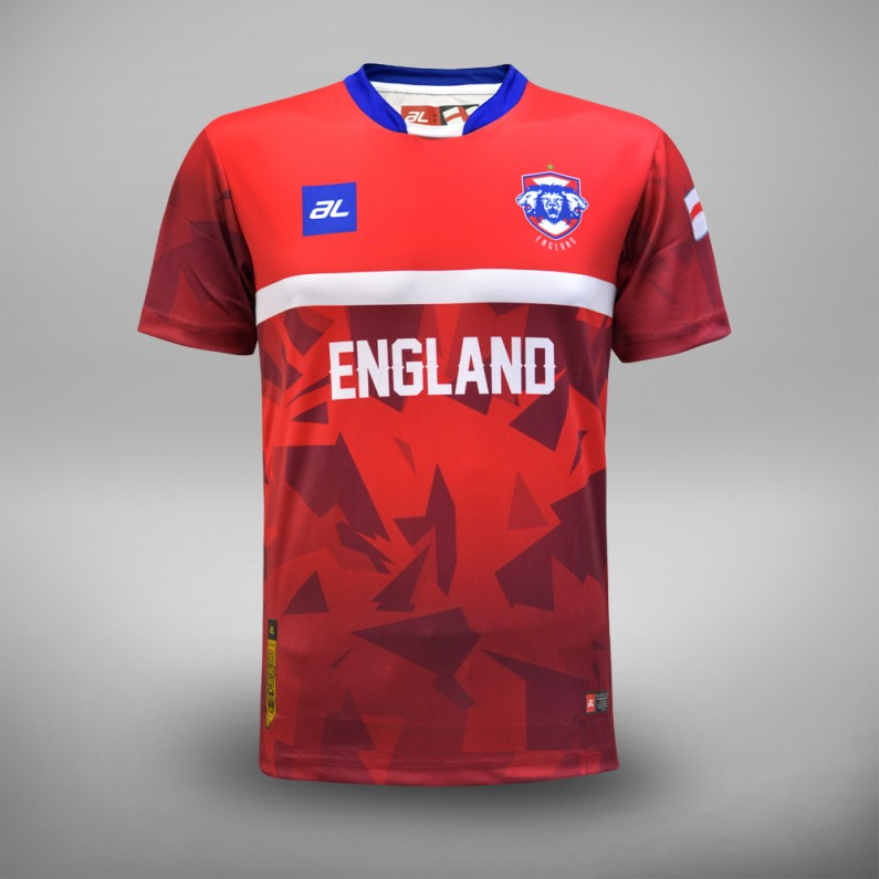 Euro 2016 England Fans Jersey