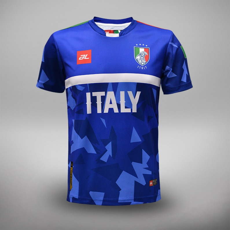 Euro 2016 Italy Fans Jersey