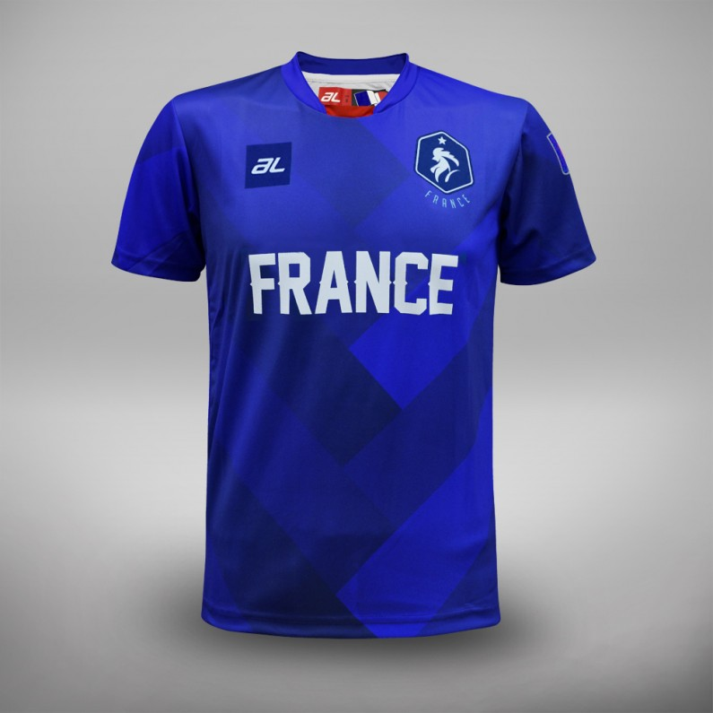 Euro 2016 France Fans Jersey