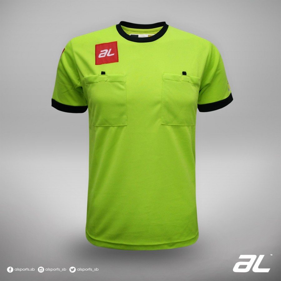 AL JC REFEREES LIME/BLACK