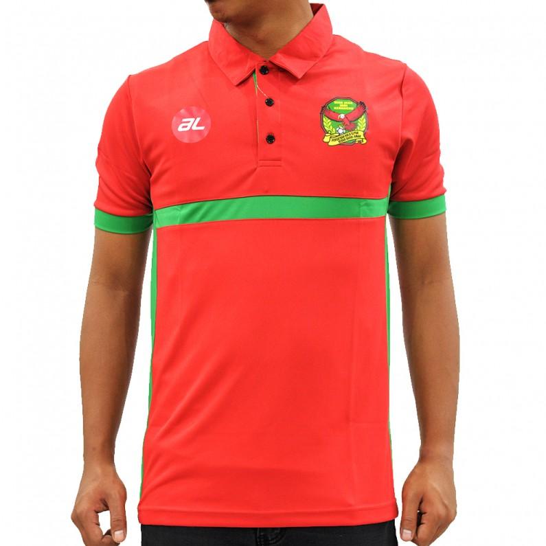 Polo Kedah Red/Green 2017