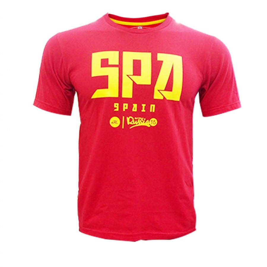 AL R/NECK SPAIN(RED)0618